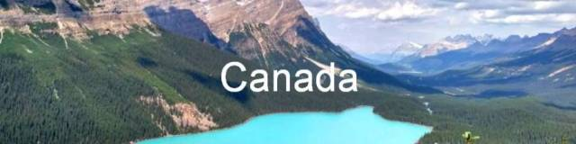 Canada 0. Lake Peyto, Rocky mountains