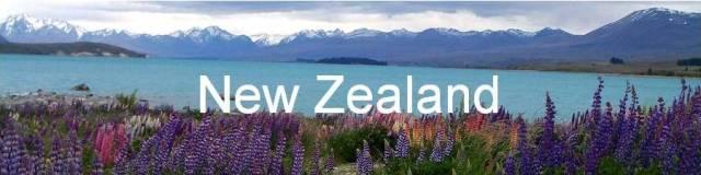 New Zealand, Lake Tekapo.