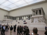 The Altar of Zeus in Pergamon Museum