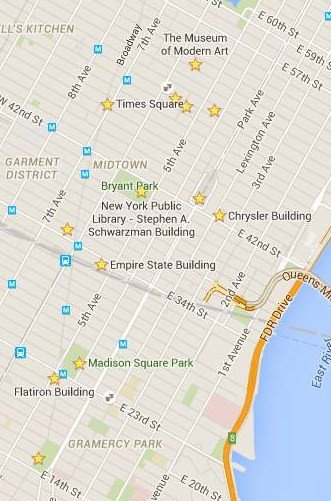 2015 Itinerario Midtown