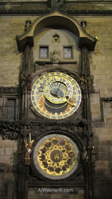 El reloj astronómico, Praga