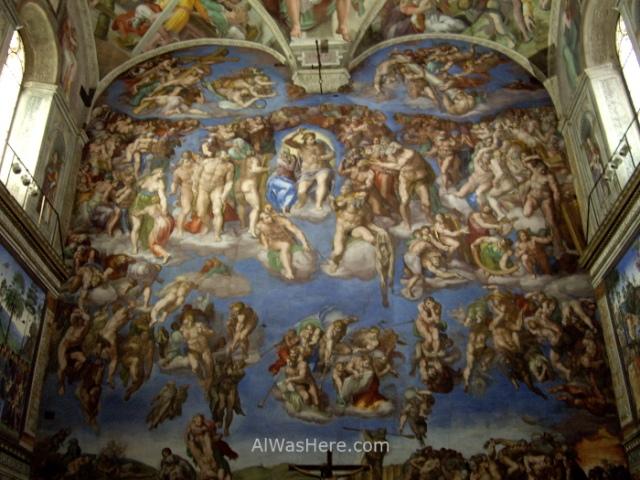 VATICANO MUSEOS 5. Museum Capilla Sixtina Miguel Angel Sistine Chapel Michelangelo