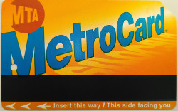 Nueva York Metro Card New