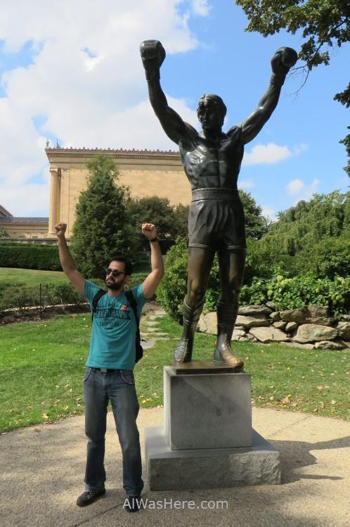 2014 Estatua de Rocky en Filadelfia Philadelphia statue
