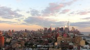 Downtown Manhattan from Le Bain