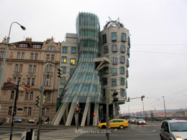 Dancing Building, Praga