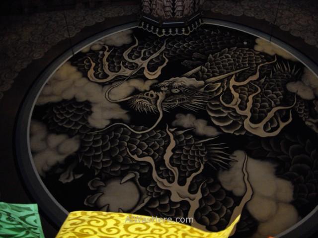 Kenchoji Hall dragon (2)