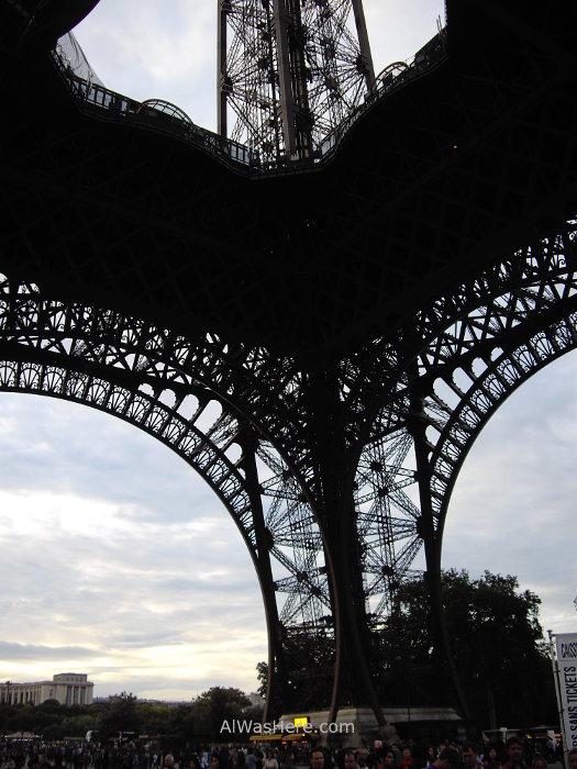 Pilar de la torre Eiffel
