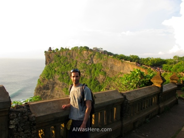 Me in Uluwatu Temple