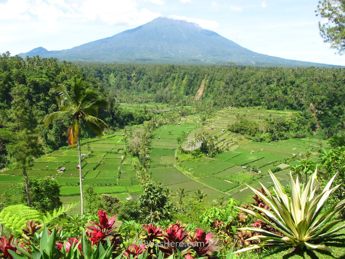 Mount Agung from another place