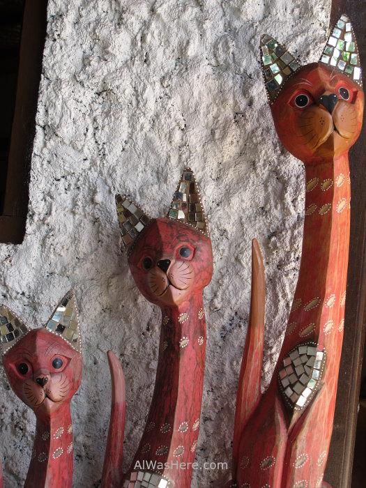 Mosaicos gatos