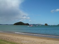 A beach in the Bay of Islands