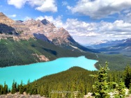 Peyto Lake, Rocky Mountains, Canada