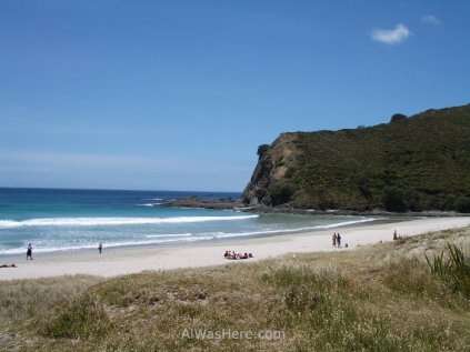 Beach at Cape Reinga