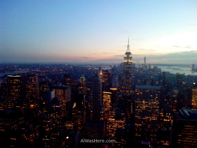 vista-desde-el-top-of-the-rock-al-atardecer