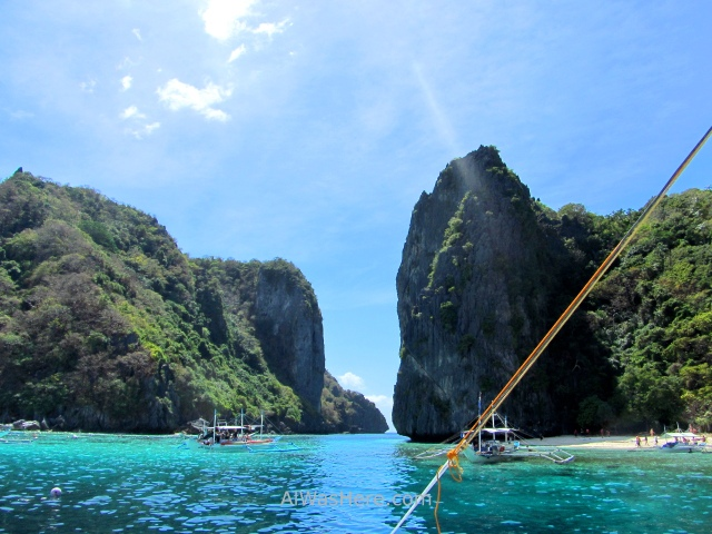 EL NIDO TOUR A Isla Shimizu, Palawan, Filipinas