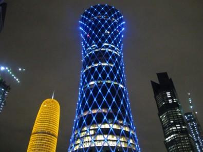 Doha 0. Rascacielos del West Bay, Doha, Catar. Skyscrapers Qatar