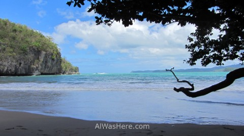 Beach in Sabang, Palawan, Philippines