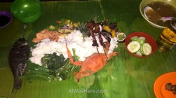 Typical fish and seafood dish, Puerto Princesa, Palawan, the Philippines