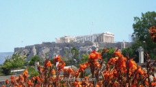 View of the Acropolis, Athens, Greece