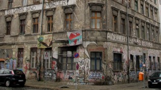 Squatted house in Berlin