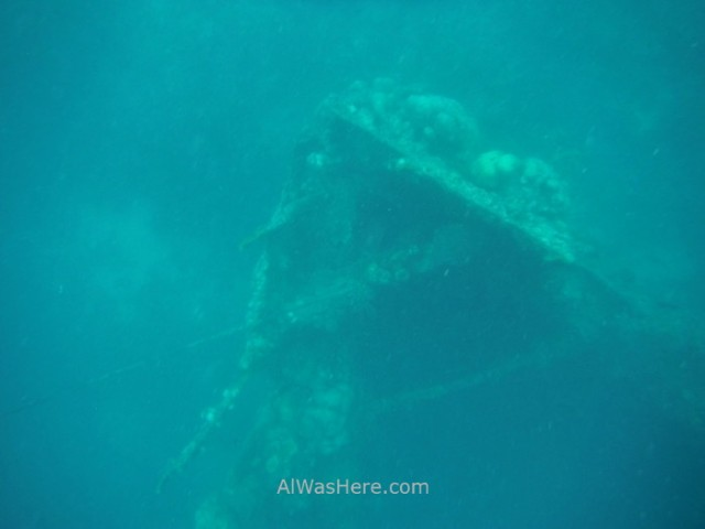 Isla de Coron 10. snorkel skeleton wreck, Palawan, Filipinas. Coron Island, The Philippines