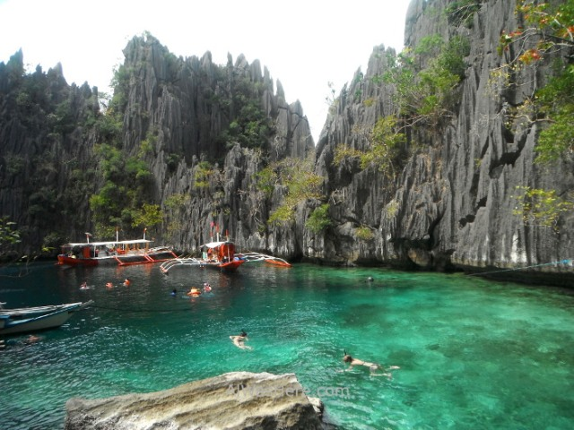 Isla de Coron 3. Twin Lagoon, Palawan, Filipinas., Coron Island, The Philippines