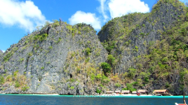 Isla de Coron 6. playas, Palawan, Filipinas. Beach Coron Island, The Philippines