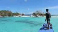 Landing in Bulog Dos Island