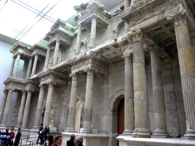 PERGAMO MUSEO 4. puerta mercado Mileto, Berlin, Alemania. Pergamon museum, market gate Miletus Germany