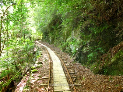 Railway turned into Arakawa Trail, Yakushima