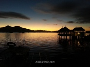 Sunset from Coron Town, Palawan, The Philippines