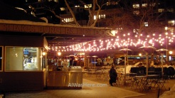 Original Shake Shack stand in Madison Park, New York City