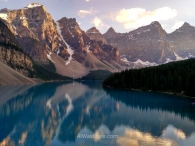 Moraine Lake, Banff National Park, Canadian Rocky Mountains, Alberta, Canada