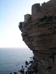 Bonifacio cliffs, Corsica