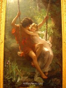 """""""Springtime"""", Pierre Auguste Cot, Met Museum, NYC"""