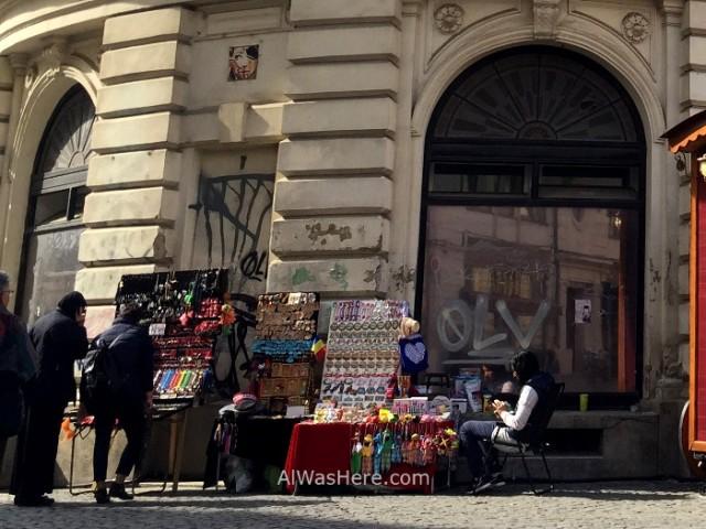 BUCAREST. pintadas Centro histórico. Old town graffiti