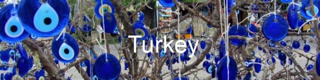 Turkey. Turkish eyes in Cappadocia