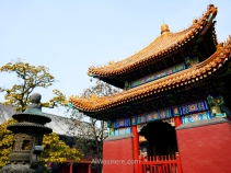 Lama Temple in Beijing, China