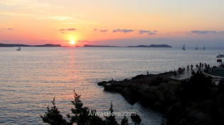 Sunset in San Antonio, Ibiza
