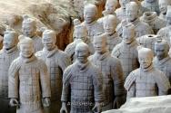 Terracotta army warriors, Xi'an