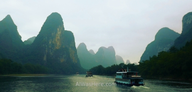 Li River cruise, Guilin, China