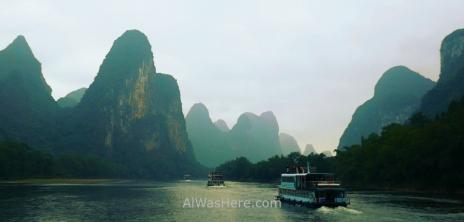 Li River cruise, Guilin, China