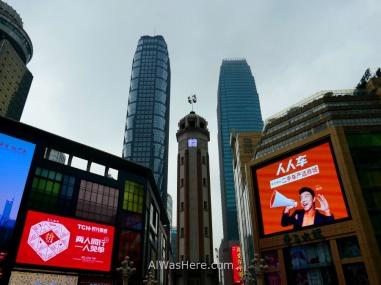 Jiefangbei Square, Chongqing