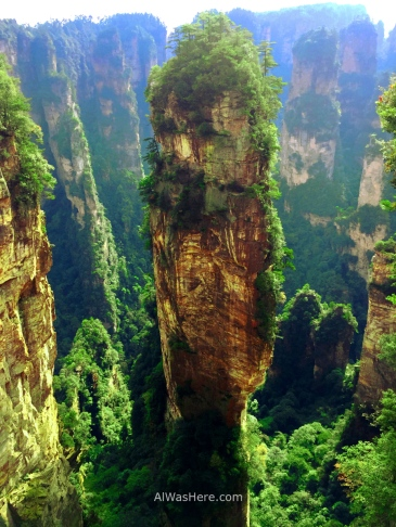 Halellujah Mountain, called like this by the movie Avatar, Wulingyuan National Park, Zhangjiajie, China