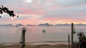 Dusk, Corong Corong Beach, El Nido, Philippines