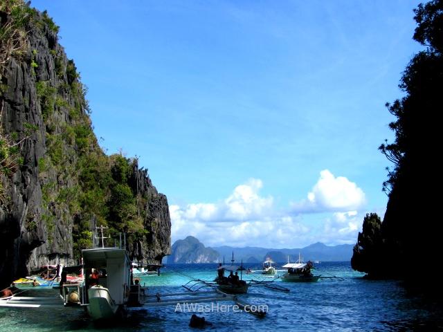 el nido peligros inconvenientes 0. dangers annoyances, big lagoon boats bagkas, palawan filipinas, philippines