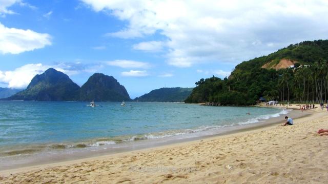 EL NIDO MARIMEGMEG LAS CABANAS BEACH PLAYA 2. Palawan, Filipinas, Philippines