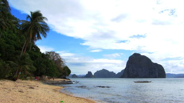 EL NIDO MARIMEGMEG LAS CABANAS BEACH PLAYA 3. parte sur south Palawan, Filipinas, Philippines