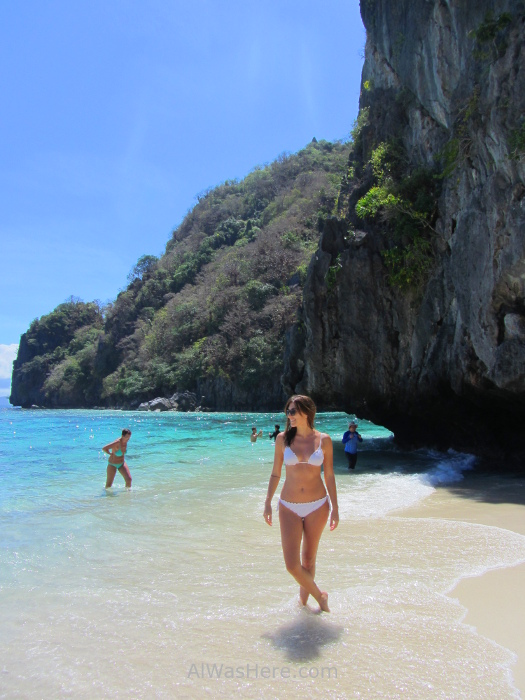 EL NIDO TOUR A Isla Shimizu, Palawan, Filipinas Pili